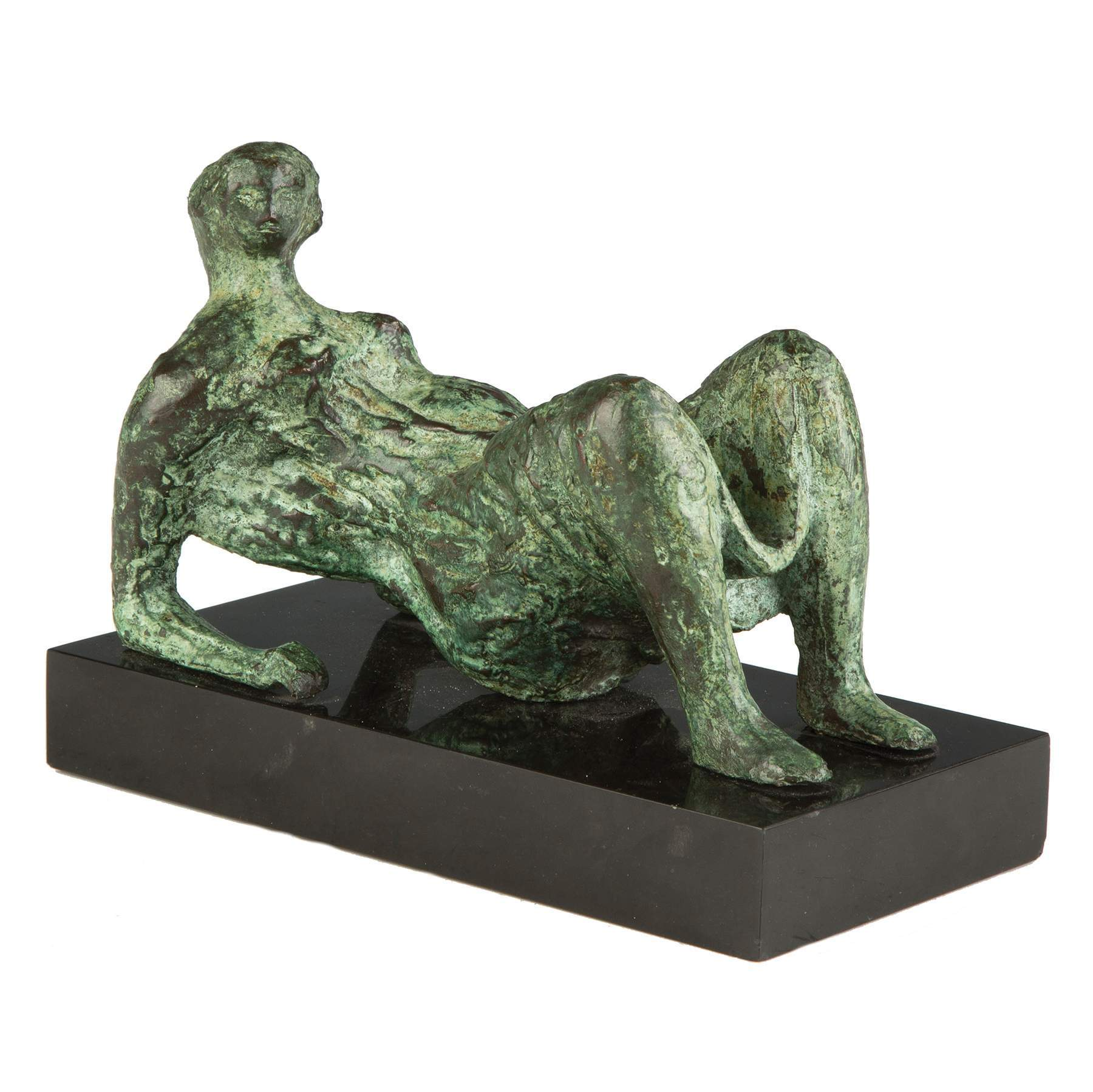 Henry Moore (British 1898-1986) Bronze Sculpture Maquette for Draped Reclining Figure  sc 1 st  Cottone Auctions & Henry Moore (British 1898-1986) Bronze Sculpture Maquette for ... islam-shia.org