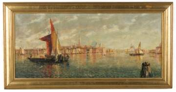 William Birdsall Gifford (American, 1839-1929) Venetian Scene