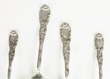 Tiffany Sterling Silver Flatware - Chrysanthemum  Pattern