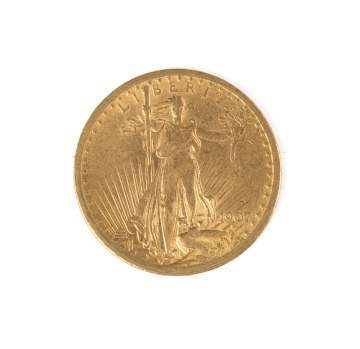 1907 St. Gaudens Twenty Dollar Gold Coin