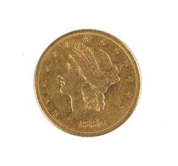 1883 Twenty Dollar Liberty Head Gold Coin