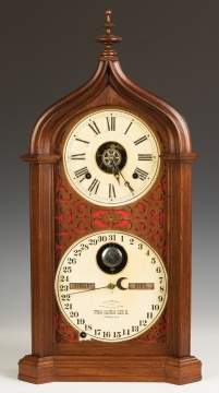 Ithaca Gothic Shelf Clock