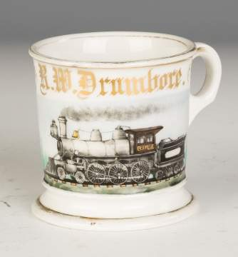 Vintage Occupational Shaving Mug