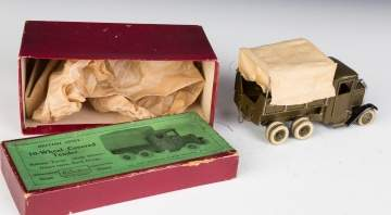 Die Cast British Army 10 Wheel Covered Tender  Truck