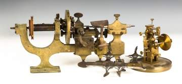 Brass and Steel Watch Maker's Tools