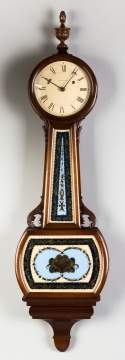 Waltham Harvard Model Banjo Clock