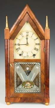 Brewster & Ingraham Steeple Shelf Clock