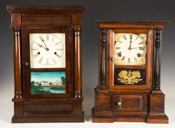 Forestville and Atkins Shelf Clocks