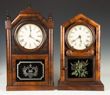 Roswell Kimberly and New Haven Shelf Clocks