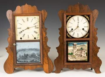 E.C. Brewster and E. & A. Ingraham Shelf Clocks