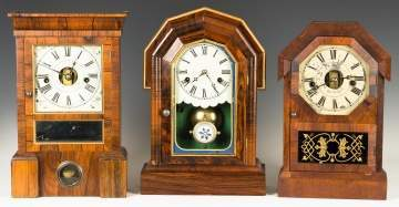 Seth Thomas and William Gilbert Shelf Clocks