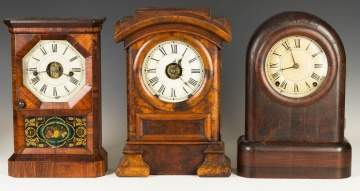 Three Seth Thomas Shelf Clocks