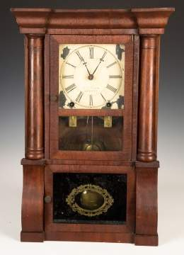 Miniature E. O. Goodwin Shelf Clock