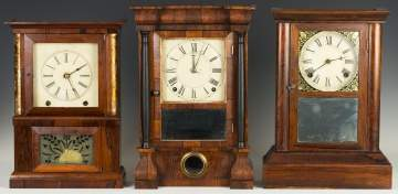 Three Cottage Clocks