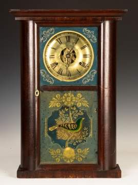 C. N. Jerome Round Side Shelf Clock