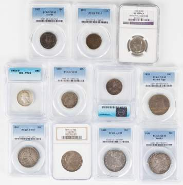 Estate Graded Coin Collection