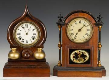 E. Ingraham and Seth Thomas Shelf Clocks
