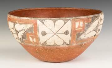 Large Zia Bowl