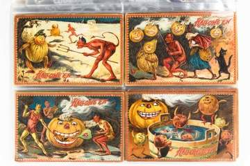 Halloween Postcard Collection