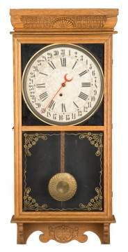 E. Ingraham Calendar Wall Clock