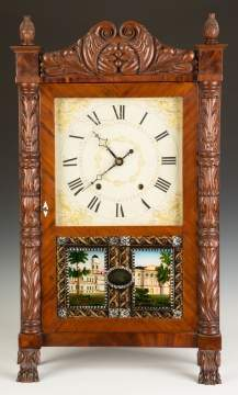 Ephraim Downs for George Mitchell Shelf Clock
