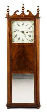 Rare Elnathan Taber Shelf Clock
