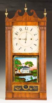 Jerome, Darrow & Co. Transitional Shelf Clock