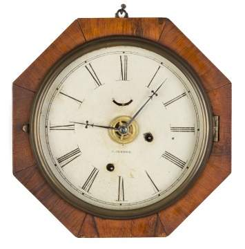 Chauncy Jerome Gallery Clock