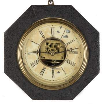 S. B. Terry Octagonal Gallery Clock