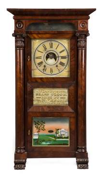 C.N. Jerome Empire Shelf Clock, Bristol, CT