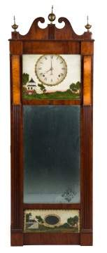 Joseph Ives Mirror Clock
