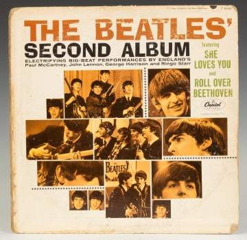 Beatles Album Cover with Signatures