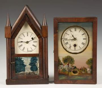 S. B. Terry and New England Clocks