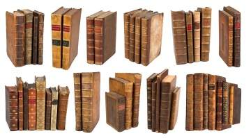 Collection of Books (17th-19th Century)