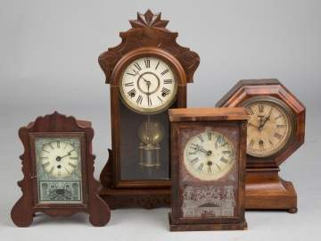 Group of Misc. Shelf Clocks