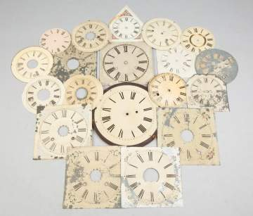 Large Group of Various Clock Dials