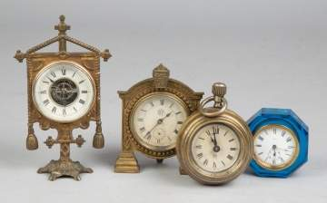 Group of Misc. Table Clocks