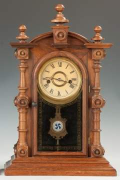 "Welch and Spring Co. ""Patti"" VP Model Shelf Clock"