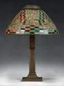 Tiffany 'Indian Basket' Lamp