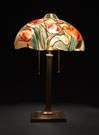 Pairpoint Reverse Painted Tulip Lamp