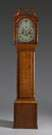 Attributed to Josiah Gooding Tiger Maple Tall Case Clock