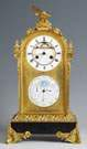 Fine Gilt Bronze & Marble Shelf Clock
