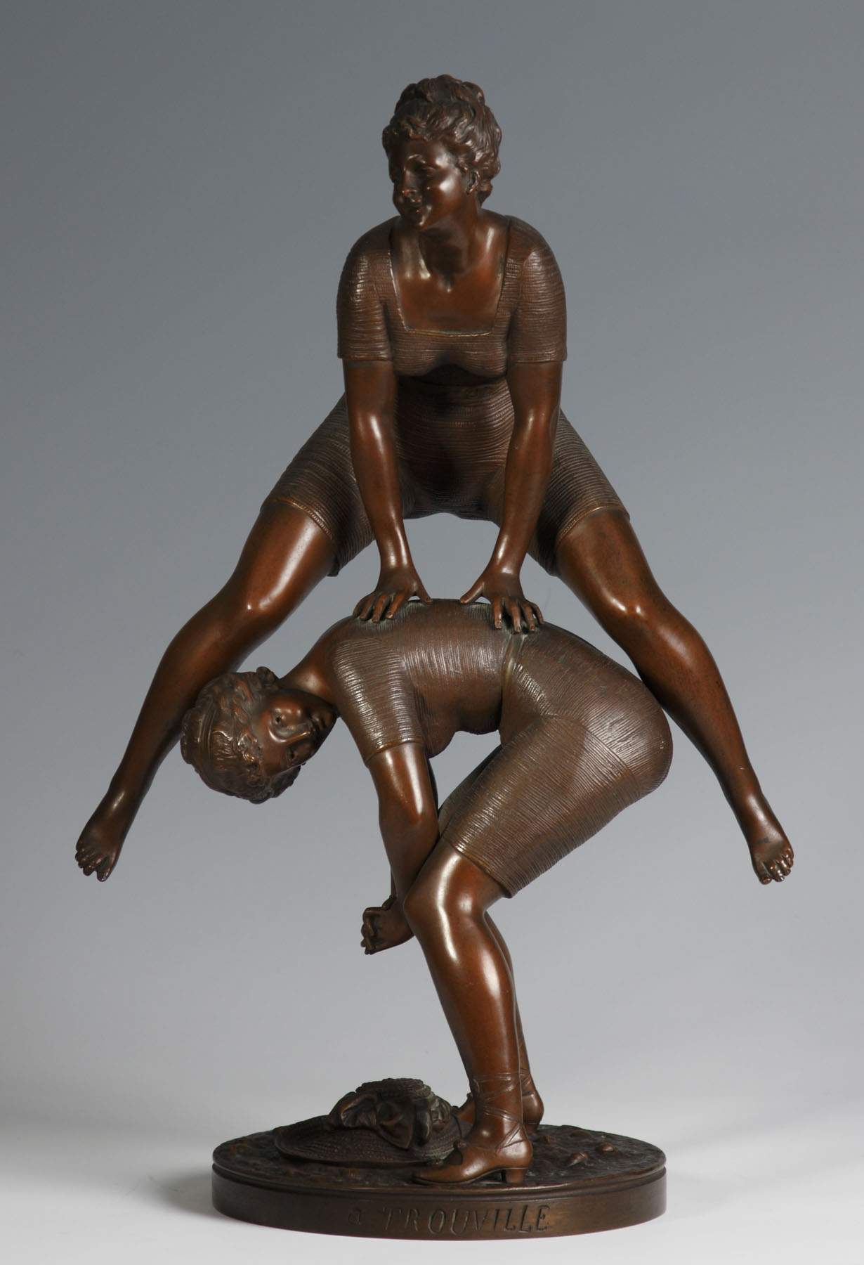 Ernest Rancoulet (French, 1870-1915) Bronze