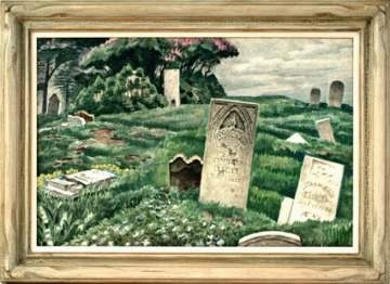 "Charles Burchfield (NY, 1893-1967) ""In Memoriam"""