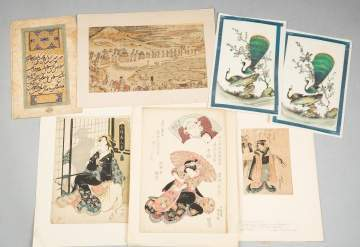 Various Japanese Prints