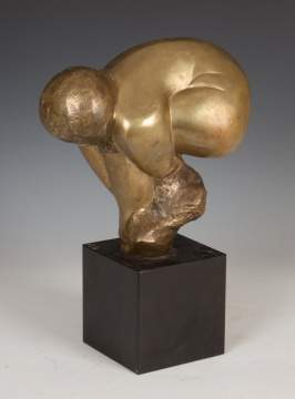 Lorrie Goulet, NA (American, Born 1925) Bronze Sculpture