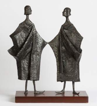 Achille Forgione Jr. (American, 1928-2009) Welded Steel Sculpture