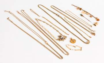 Misc. 14K Gold Jewelry