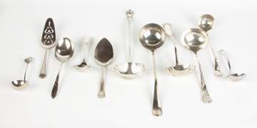 11 Silver Plate Serving Pieces