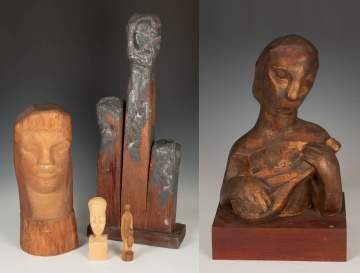 Group of Contemporary Sculptures